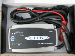New Ctek Multi Us 25000 12 Volt Battery Charger Optima Red Yellow Top Agm