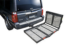 Pro Series 1040200 Solo Trailer Hitch Cargo Carrier Ramp