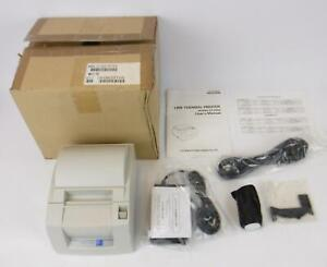 New Citizen Ct s300 rf120a White Usb Thermal Pos Receipt Printer W Power Supply