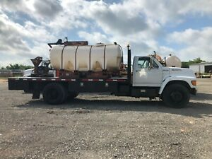 99 Ditch Witch Fm13 1000 Gal Mixer Truck 817 221 1036 Miles Equipment Sales