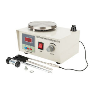 Digital Magnetic Stirrer With Heating Plate Hotplate Mixer Display 1000ml