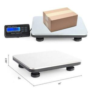 660lbs X 0 1 Lb Digital Lcd Floor Platform Weighing Shipping Postal Scale 300kg