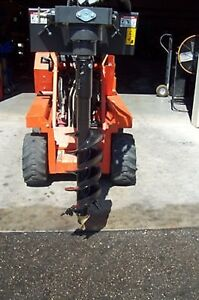 Mini Skid Steer Auger Drive 2 hex Choice Of 6 9 Or 12 Bit will Take Rock Bit