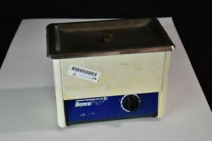 Benco Opti sonic Dental Ultrasonic Cleaner Bath For Instrument Cleaning