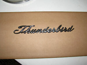 1965 67 Ford Thunderbird Quarter Panel Emblem Script