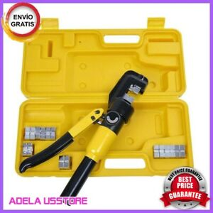 Kit Crimping Tool Set Hose Battery Terminal Lug Copper Wire Hydraulic crimper