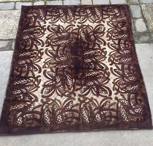 Vintage Chase Mohair Horsehair Buggy Carriage Lap Sleigh Blanket