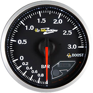Shadow Electrical Vehicle 3 Bar Turbo Boost Gauge