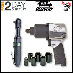 New Ingersoll Rand 2317g Air Hammer Quick Change With Chisel Set New Sale Price