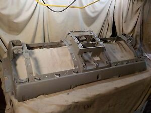 03 04 Jeep Wrangler Khaki Main Dash Mounting Panel Board Dashboard Tj4