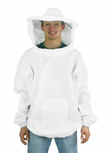 Vivo X large Beekeeping Bee Keeping Suit Jacket Pull Over Smock With Veil Xl