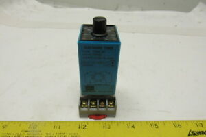 Eaton Trn 2p Electronic Timing Relay 8 Pin Volts 24ad W d3pa2 Base