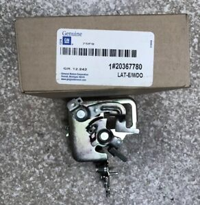 Nos Oem End Tail Gate Trunk Latch 1978 1983 El Camino Malibu Monte Carlo
