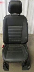 13 14 15 Ford Escape Left Lh Driver Black Leather Power Bucket Seat Oem Lkq