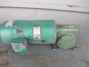Reliance Electric 426297 my 3 4 Hp Ac Motor With Gear Frame R56