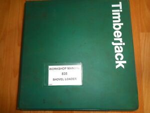 Timberjack 835 Shovel Log Loader Harvester Service Workshop Repair Manual Oem