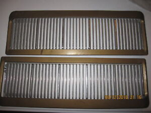1969 1970 Oldsmobile 442 Cutlass F 85 Hood Scoops Louvers Oem Very Nice 69 70