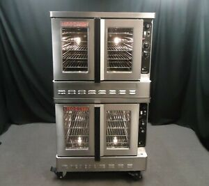 2016 Blodgett Dfg 200 Commercial Gas Bakery Depth Double Convection Oven