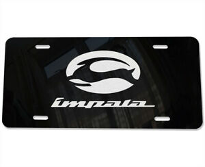 Impala Automotive Vanity License Plate Laser Etched Mirror Aluminum Fits Chevy B