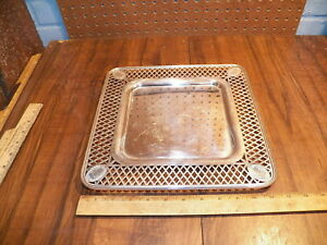 Vintage Silverplate Square Tray Platter
