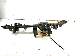 13 Jeep Wrangler Jk Front Axle Housing Assembly 2013299