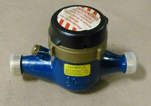 Pulsafeeder Inc Mtr200 Inline Mechanical Flowmeter 20 Mm 22 Gpm Water Meter