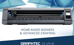 Graphtec Ce Lite 50 Vinyl Cutter 20 Cutting Plotter For Craft Vinyl And Htv