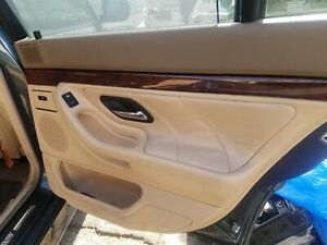 1995 2001 Bmw E38 740i 740il 750 Beige Rear Door Panels With Sunshades