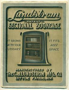 1908 Lundstrom Mfg Co Catalog Little Falls Ny Book Case Filing Cabinet