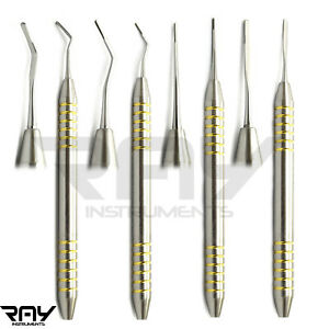 Dental Periotome Scaler Pdl Periodontal Ligament Atraumatic Extraction Set Of 4