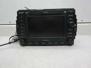 2006 Jeep Grand Cherokee Dvd Player Navigation Radio Rec Oem