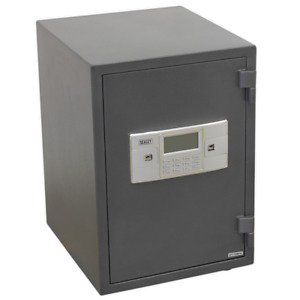 Fireproof Heavy Duty Electronic Key Lock Security Safe Weighs 55 92kg