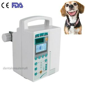 Fda Veterinary Vet Infusion Pump Iv Fluid Equipment With Voice Visual Alarm