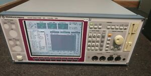 Rohde Schwarz Upl16 Audio Analyzer W opt B4 B6 B9 B10 U81