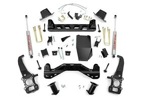 Rough Country 6 Suspension Lift Kit Ford F150 4wd 04 08 5 4l 4 6l 54620
