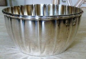 Gorham Sterling Silver Bowl Dated 1896 7609 Within An Oval Heavy Special Order