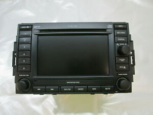 Charger Grand Cherokee Commander Magnum Chrysler 300 Navigation Radio Oem Rec