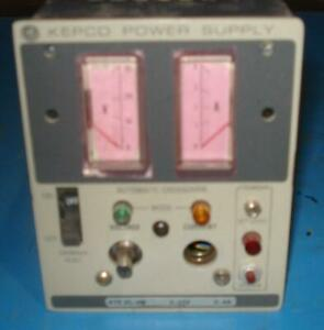 Kepco Ate 25 4m Ate Dc Power Supply T6763