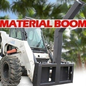 Material tree Boom Attachment For Skid Steers lift 10 000 Lbs Fits Mustang