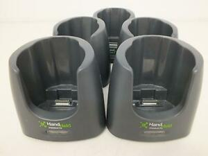 lot Of 5 handheld Products Dolphin 7600 Homebase Charge Dock