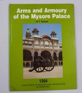 Arms Armoury Of The Mysore Palace Talwar Hb 1994 Illus