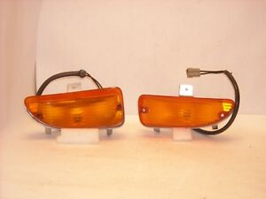 Mopar Nos 1972 Plymouth Fury Front Turn Signal Assemblies Left Right Pair