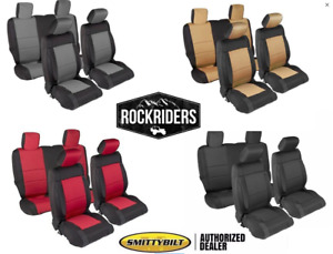 2013 2018 Jeep Wrangler Unlimited Jk Smittybilt Complete Neoprene Seat Covers
