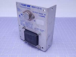 Power one Hb24 1 2 a Power Supply Out 24 Vdc At 1 2 A T123266