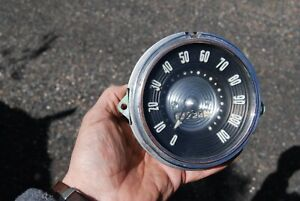 1953 54 Chevrolet Belair 210 Wagon Delivery Speedometer Assembly Nice Orig