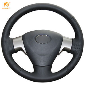 Leather Steering Wheel Cover For Toyota Matrix Auris 07 09 Corolla 06 10 11