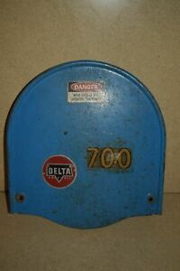 rt Delta Rockwell 14 Bandsaw Upper Wheel Cover cc