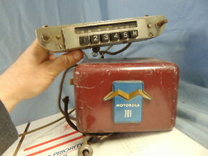 1950 S Era Motorola Model 701 Car Radio W Control Ford Chevy Dodge