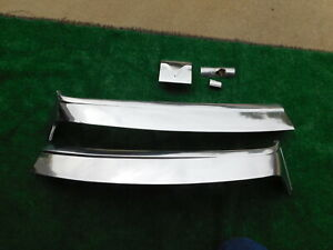 1955 Chrysler New Yorker Deluxe Top Of Windshield Stainless Trim 55