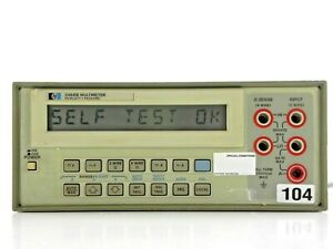 Agilent Hp Keysight 3468b 5 1 2 Digit Multimeter